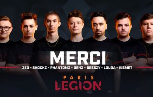 Paris Legion cambia completamente il team di Call of Duty